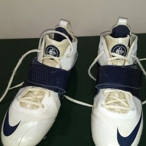 Nike Huarache cleats sz 13